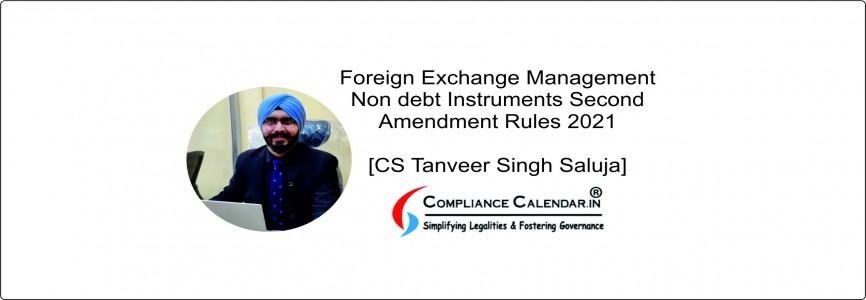 Foreign Exchange Management Export of Goods and Services Amendment Regulations 2021 [CS Tanveer Singh Saluja]