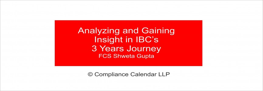 Analyzing and Gaining Insight in IBC's 3 Years Journey By FCS Shweta Gupta