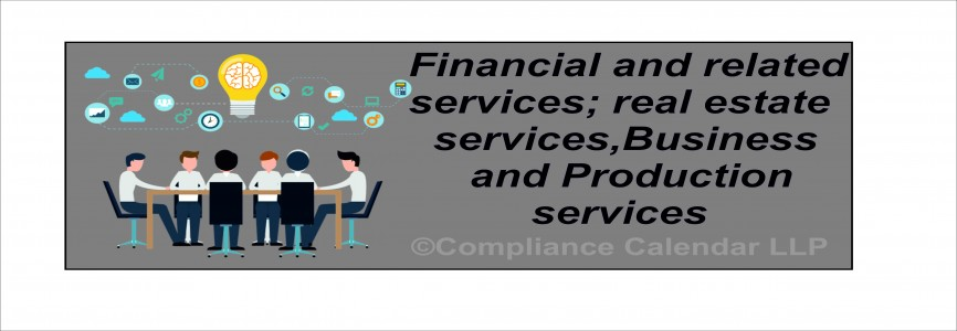 Financial and related services; real estate services,Business and Production services