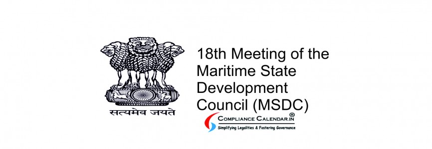 18th Meeting of the Maritime State Development Council (MSDC)