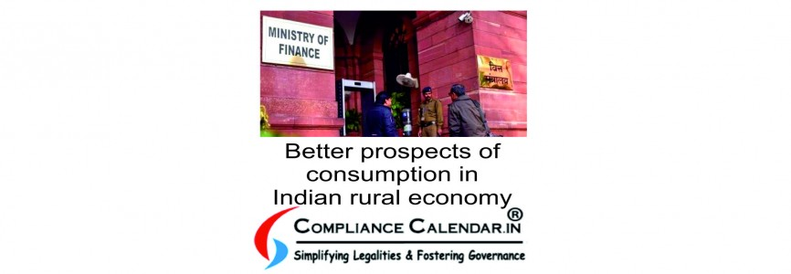 Better prospects of consumption in Indian rural economy